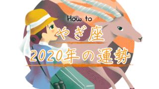 やぎ座の2020年の運勢!古い自分から脱皮して開運する方法のアイキャッチ画像
