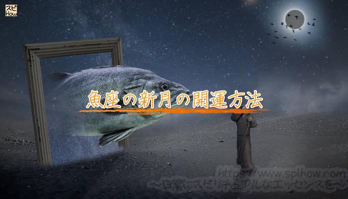 魚座の新月の開運方法のアイキャッチ画像